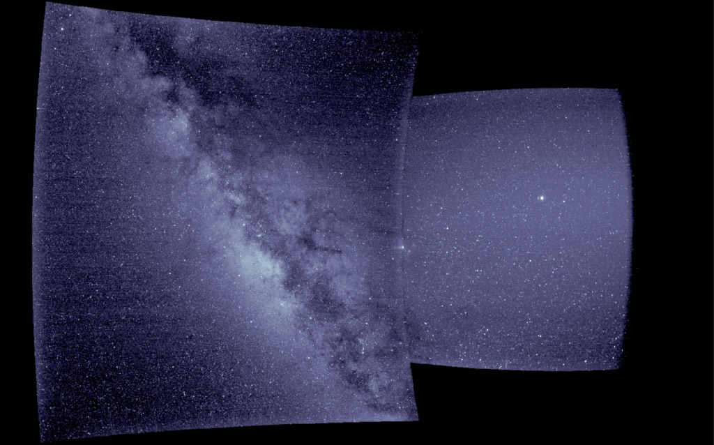 На фото угодили Юпитер, Млечный Путь и Антарес