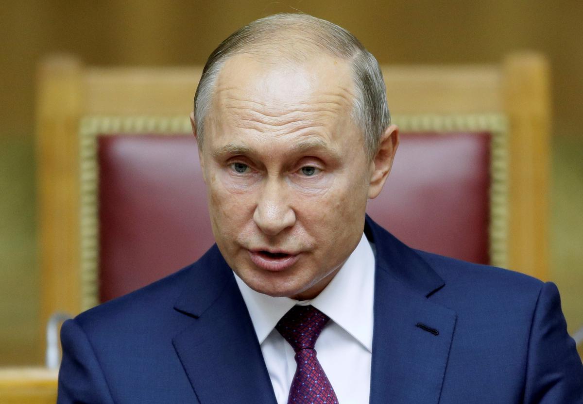 Владимира Путина сфотографировали на Втором Евразийском женском форуме