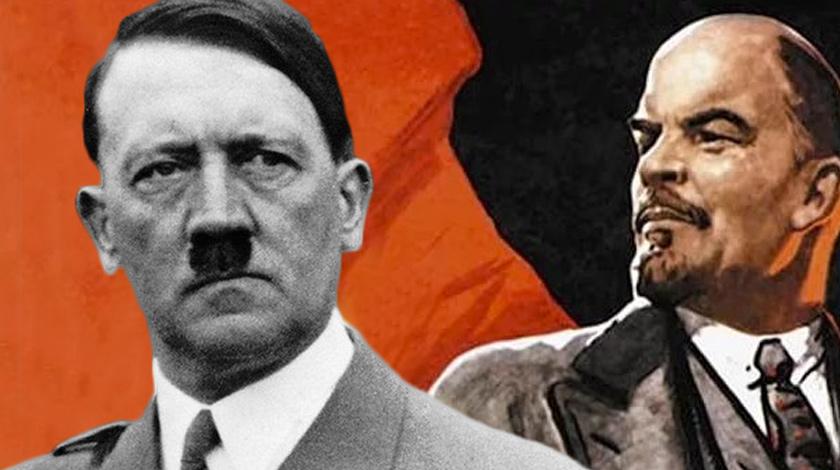 Ленин и Гитлер