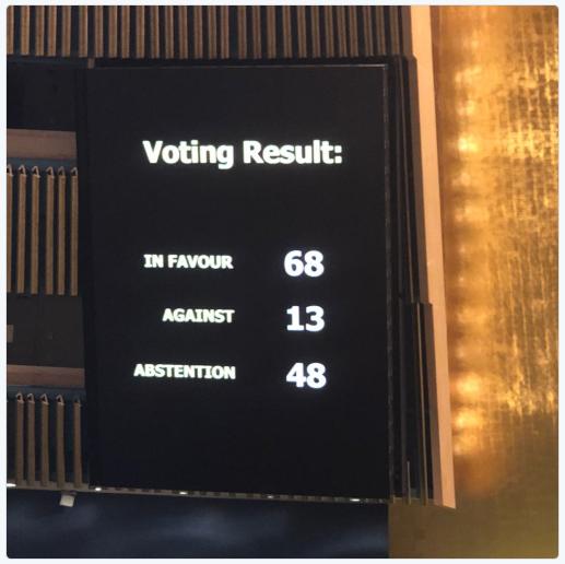 На Генасамблее ООН проголосовали за внесение в повестку дня пункта по Украине