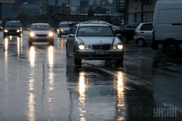 Новости Киева — В Киеве в понедельник был ливень и град