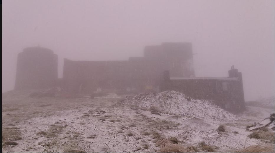 снег в Карпатах