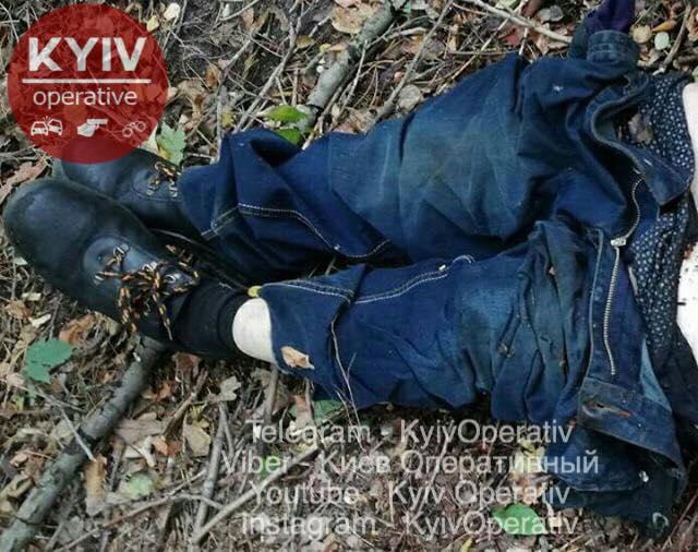 В Киеве нашли мертвым мужчину, который, по предварительным данным, похож на педофила
