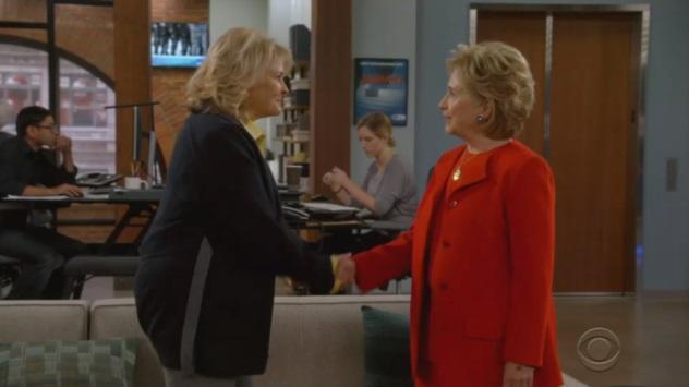 Эпизод с Клинтон в сериале