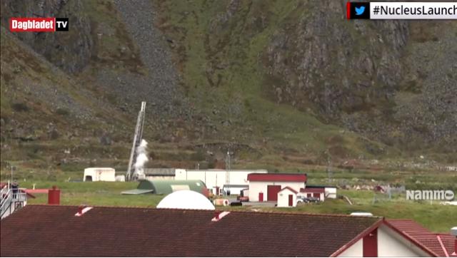 Норвежская космическая ракета