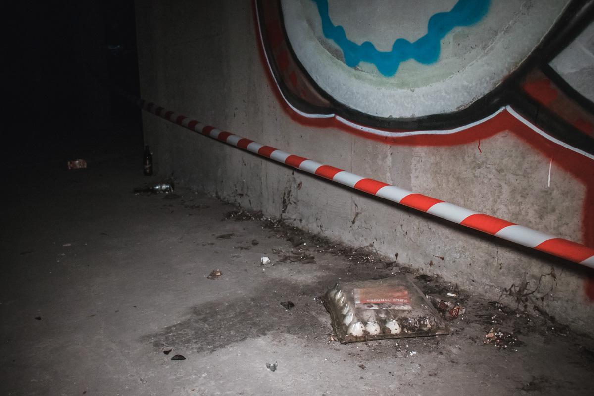 В Киеве, по предварительным данным, в недострое парень погиб в результате падения