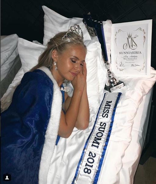 Картинки по Ðапросу мисс финляндия 2018
