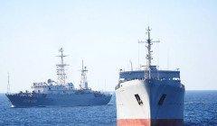 """В ВМС заявили об """"опасных инцидентах"""" с Россией во время прохождения кораблей в Азовском море"""