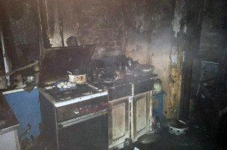 В Кривом Роге при пожаре погибли три человека