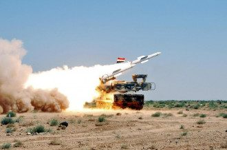 ПВО Сирии / vistanews.ru