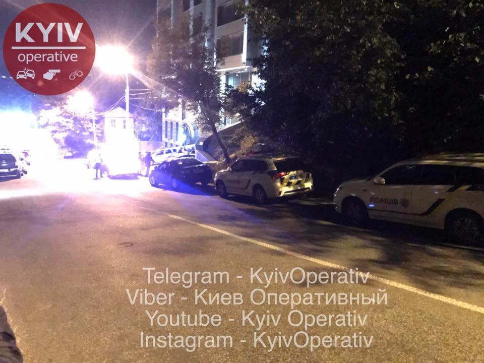 Разбой в центре Киева