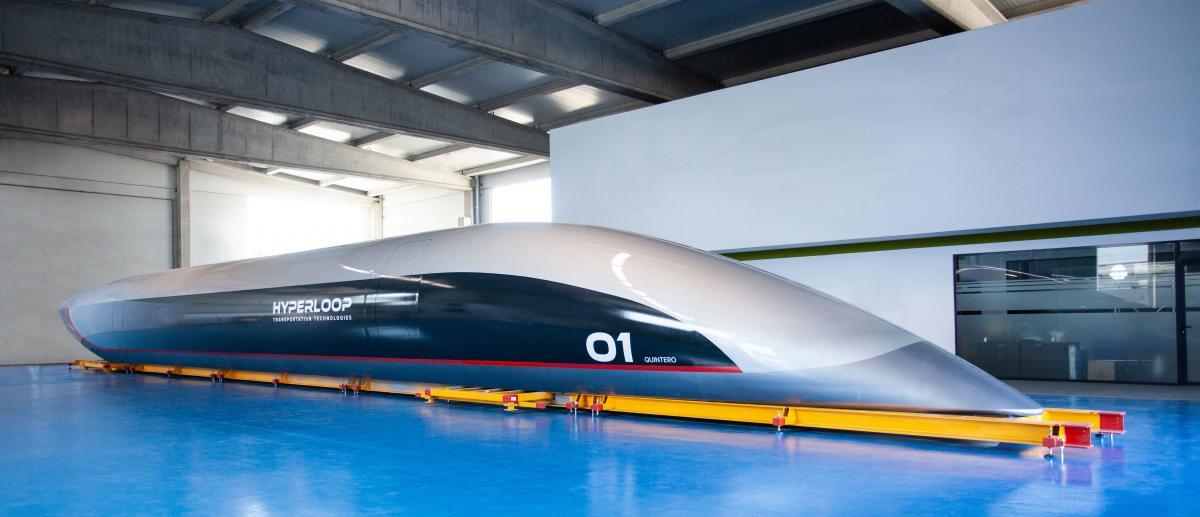 Пассажирская капсула Hyperloop