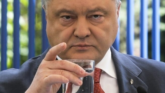 порошенко стакан