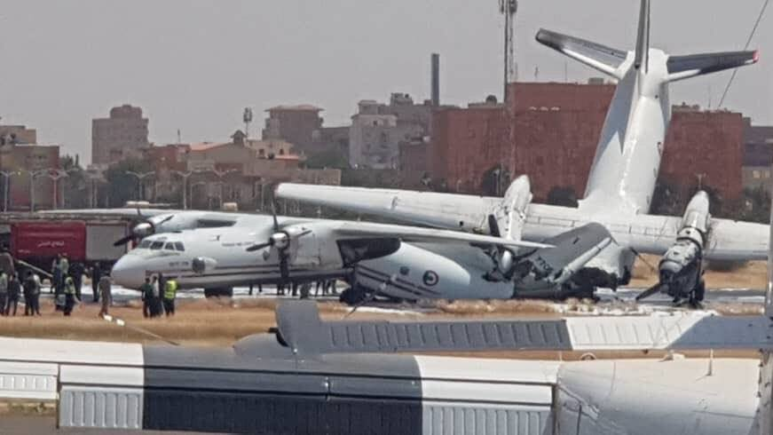 В Судане столкнулись украинские самолеты Ан