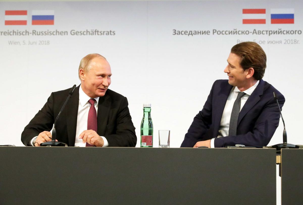 Путин и Курц
