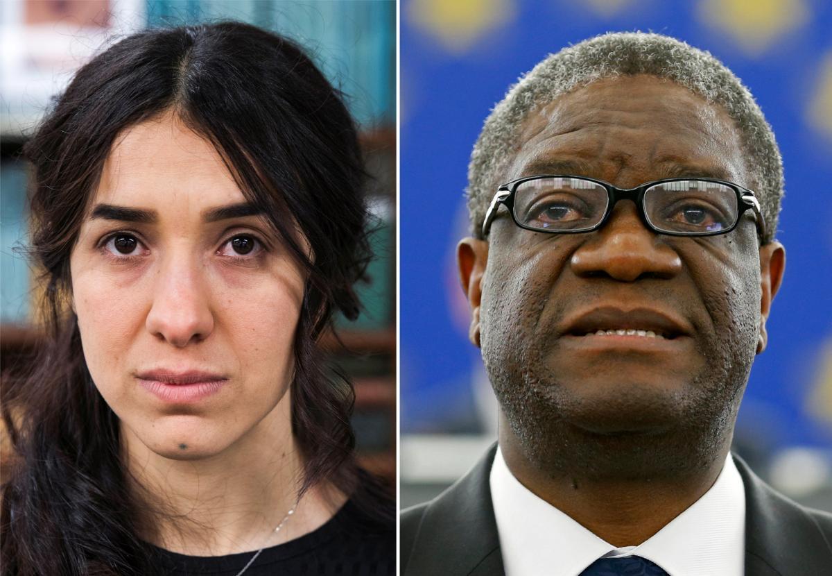 Надя Мурад и Денис Муквеге стали лауреатами Нобелевской премии мира