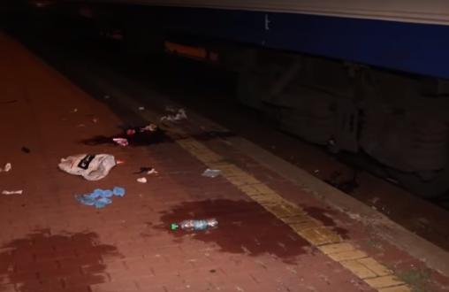 В Киеве на вокзале иностранец попал под поезд