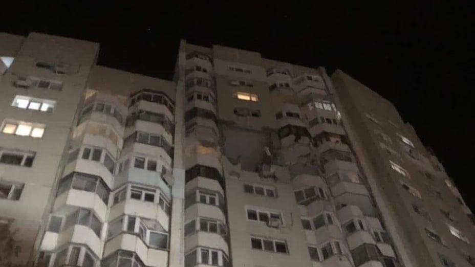В Кишиневе в многоэтажке прогремел взрыв, две жертвы