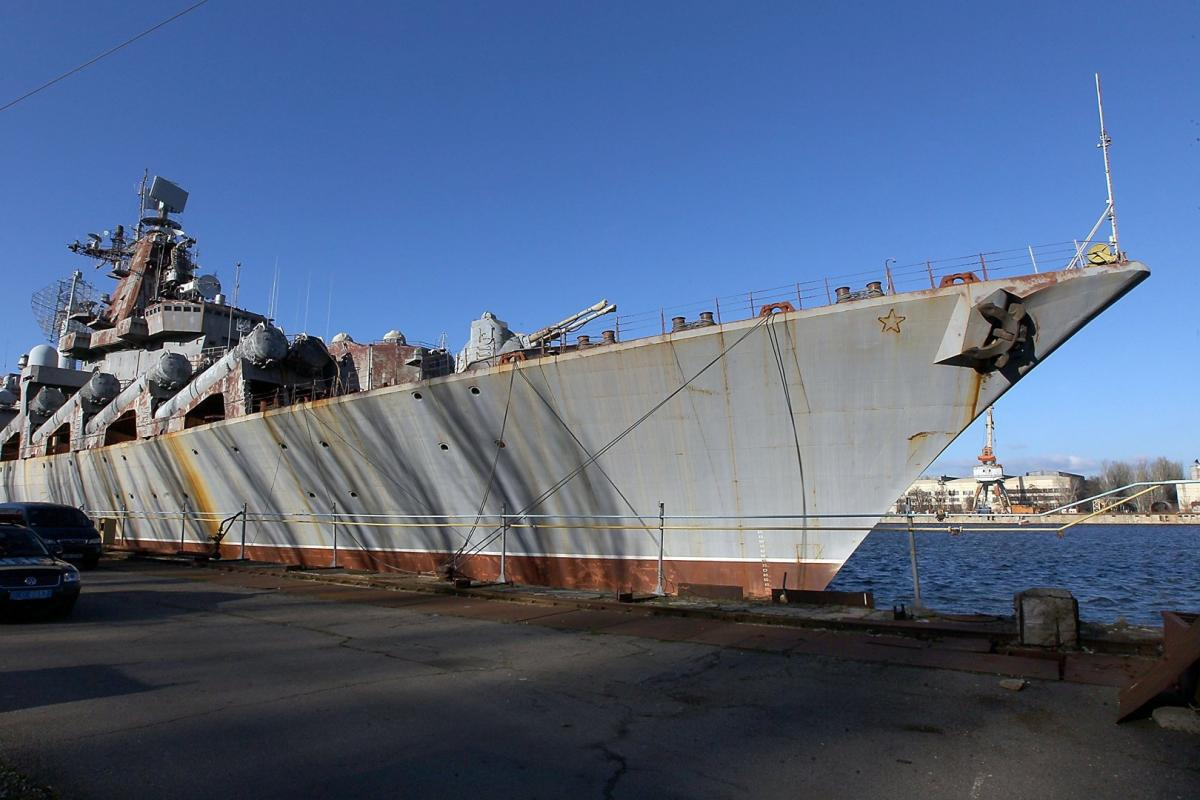 ВРаде признались вневозможности вооружить крейсер «Украина» без Российской Федерации