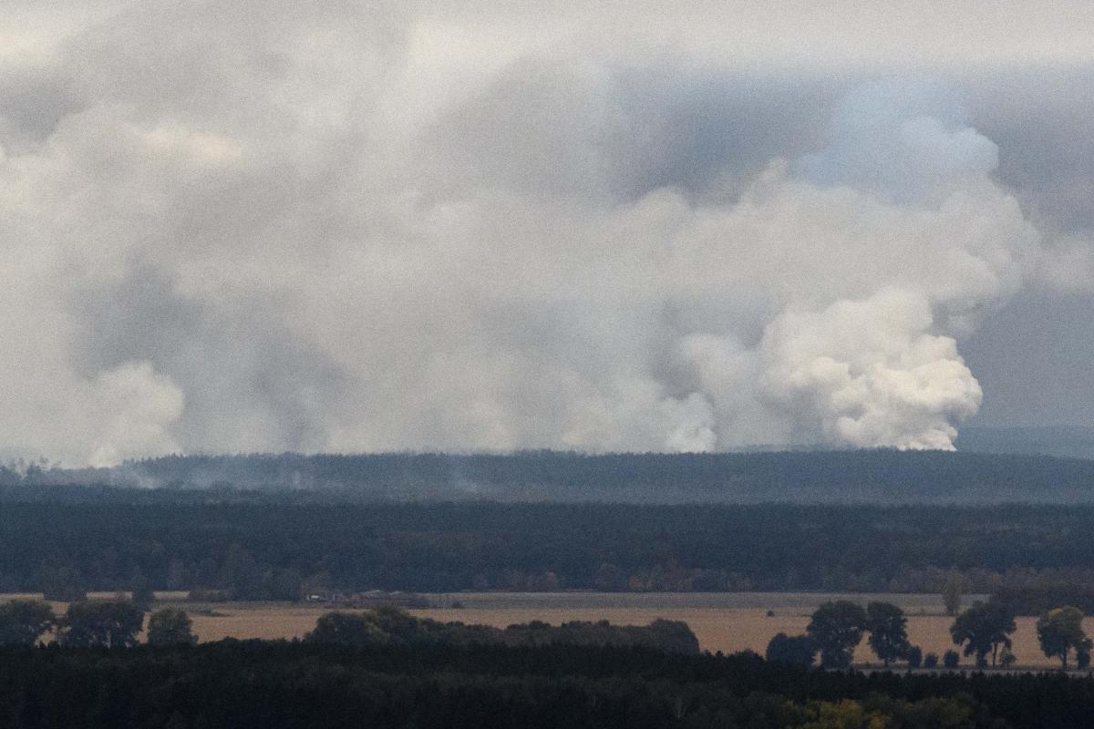 Взрывы на Черниговщине