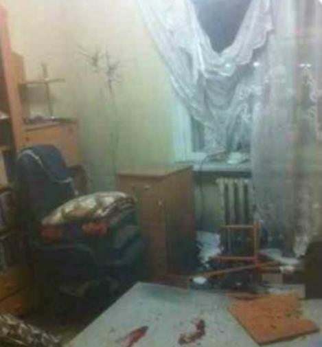 В квартире Сергея Мазура был взрыв