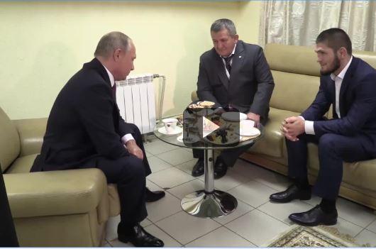 Путин,Хабиб и отец