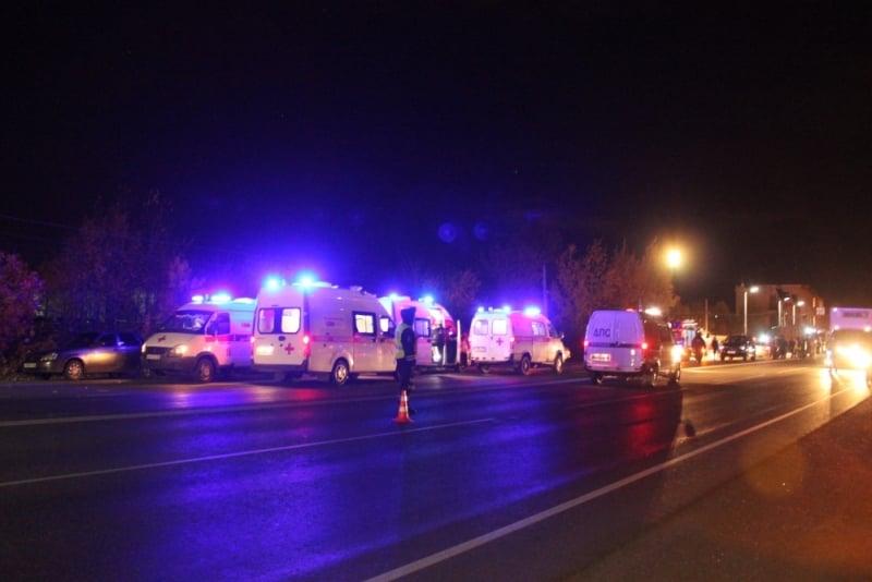 В России в ДТП погибли 11 человек