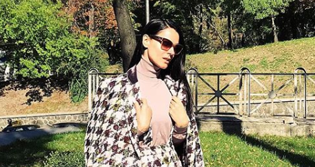 Маша Ефросинина опубликовала фото, на котором ей 15-ть