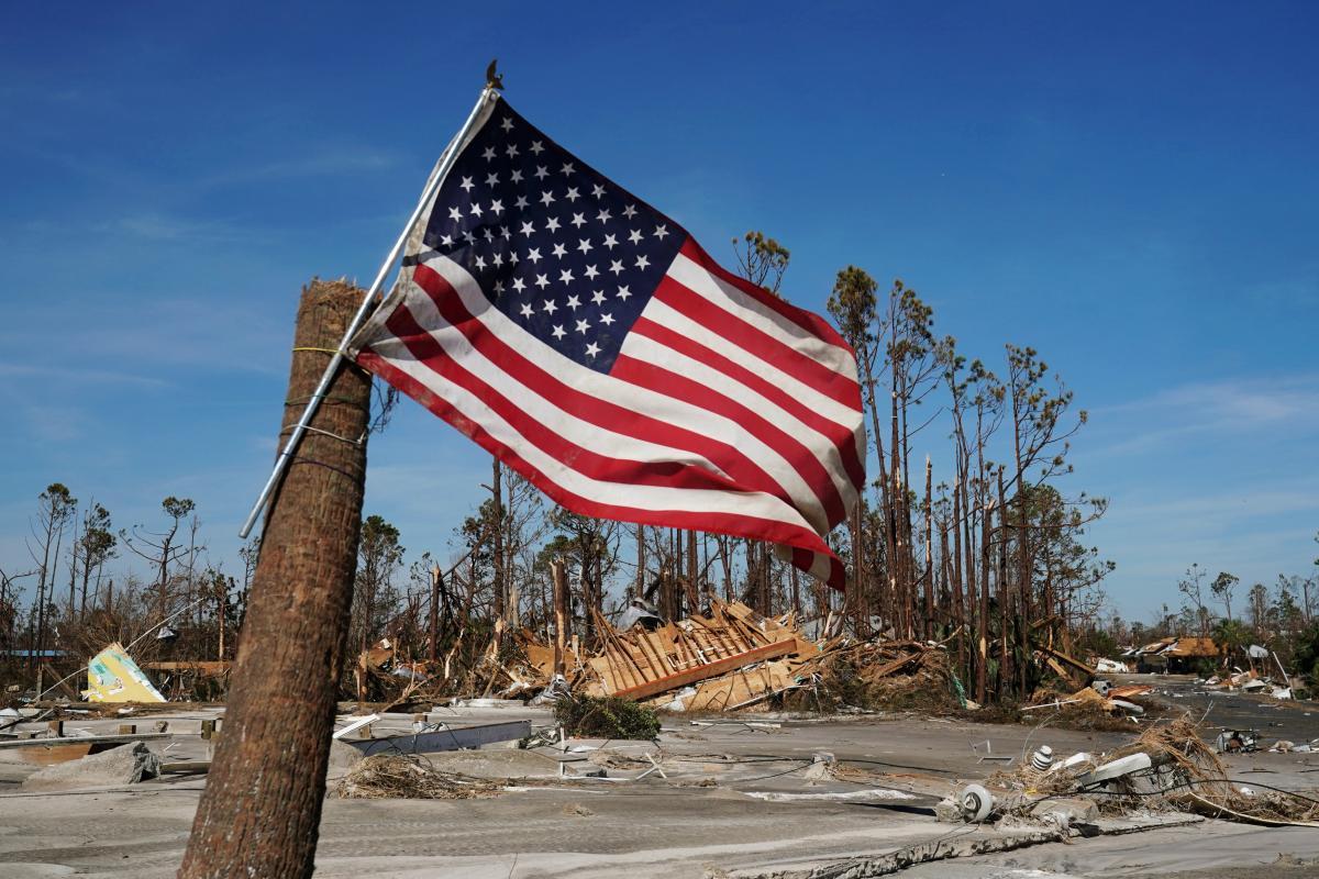 В США бушевал ураган