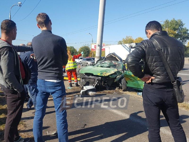 В Киеве в ДТП погибли две девушки