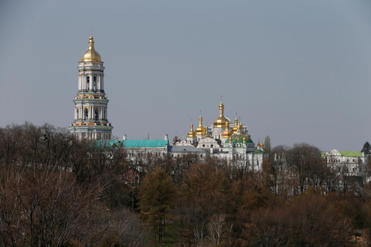 Киев,осень,Лавра