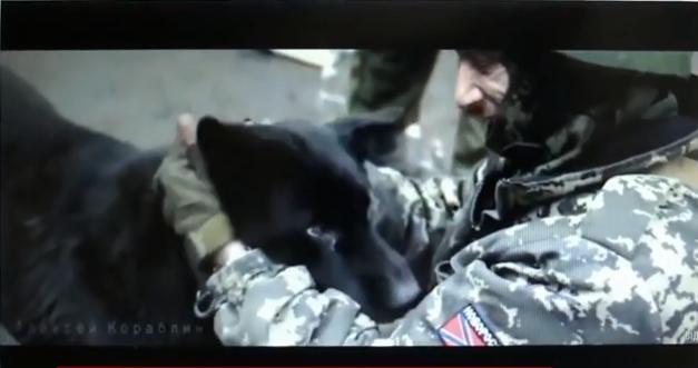 «Героям АТО» вКонотопе показали клип донецкого документалиста напесню «Кукушка»— военкор