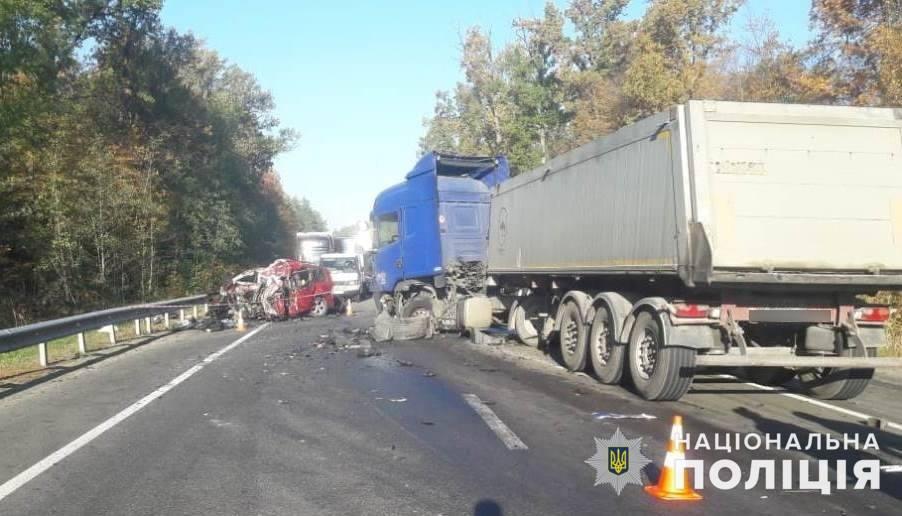 На Киевщине в ДТП погибли три человека