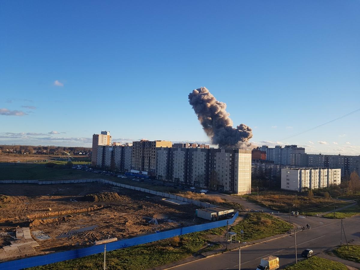 "В Петербурге взорвался пиротехнический завод ""Авангард"""
