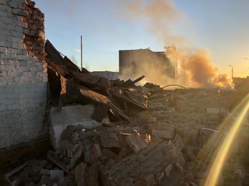 В России взрыв на заводе