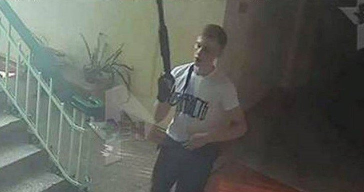 Владислав Росляков, теракт в Керчи