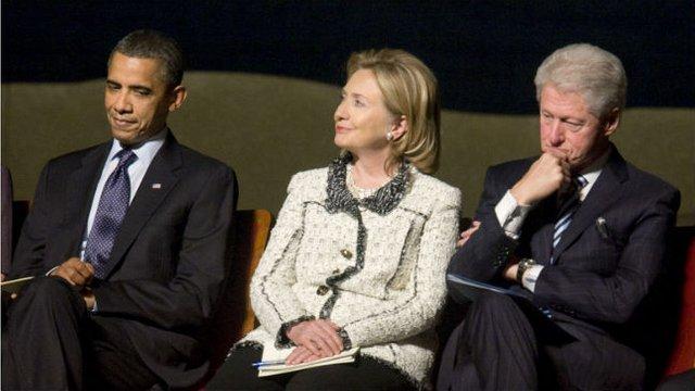 Обама и Клинтоны