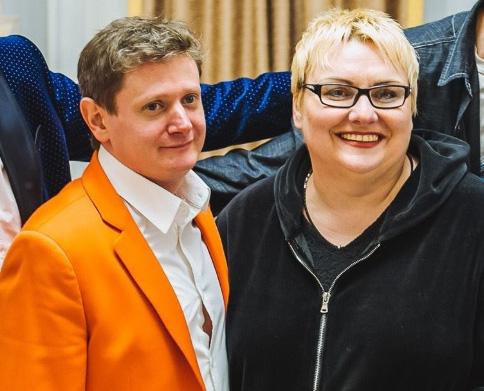 Евгений Сморигин и Марина Поплавская