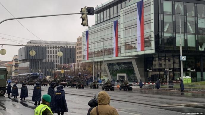 Военный парад в Чехии