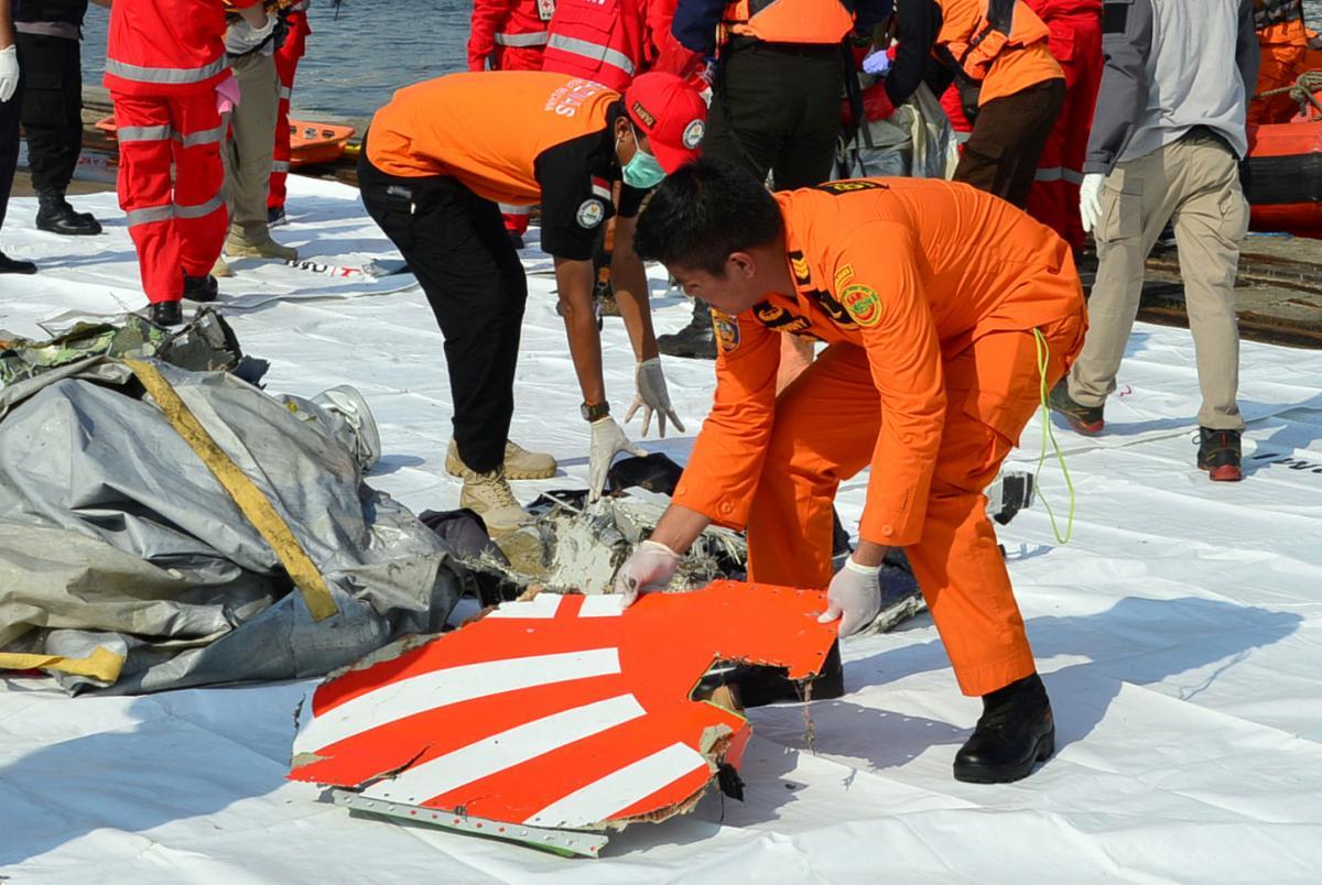 В Индонезии на месте крушения Boeing нашли человеческие останки