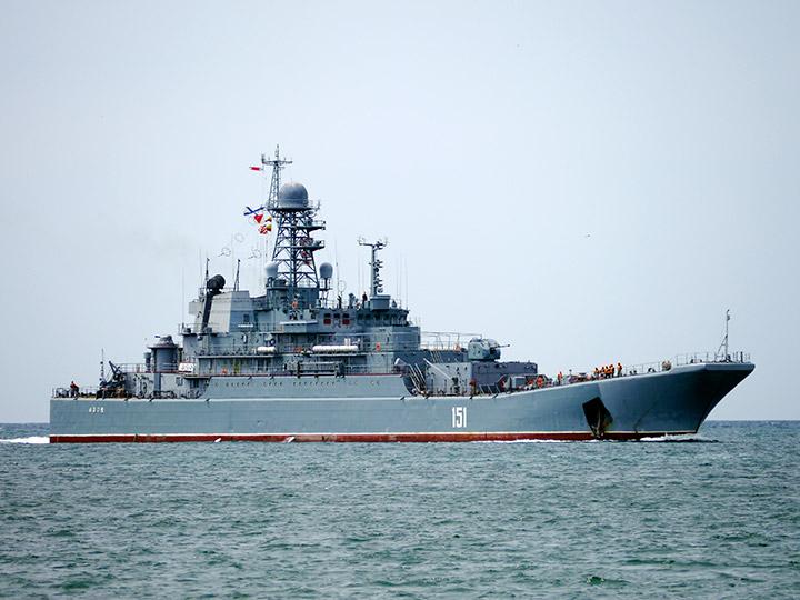 Российский десантный корабль