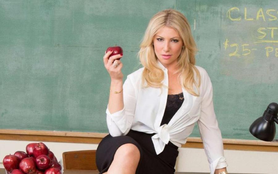 Учительница, секс