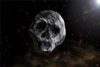 Астероид в форме черепа
