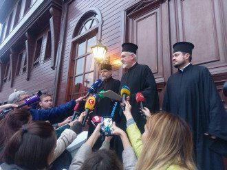 Представители Вселенского патриархата / 5 канал