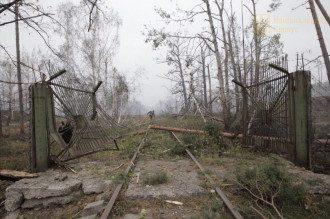 В ГСЧС сообщили, что под Ичней на военных складах в субботу утром не гремели взрывы