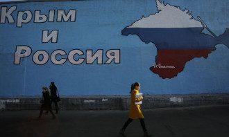 Захват Крыма — Посольство Украины в Британии поблагодарило российское посольство за