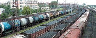 уголь поезда товарняк
