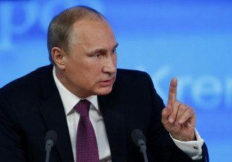 Путин, злой