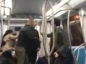 В римском метро произошла драка