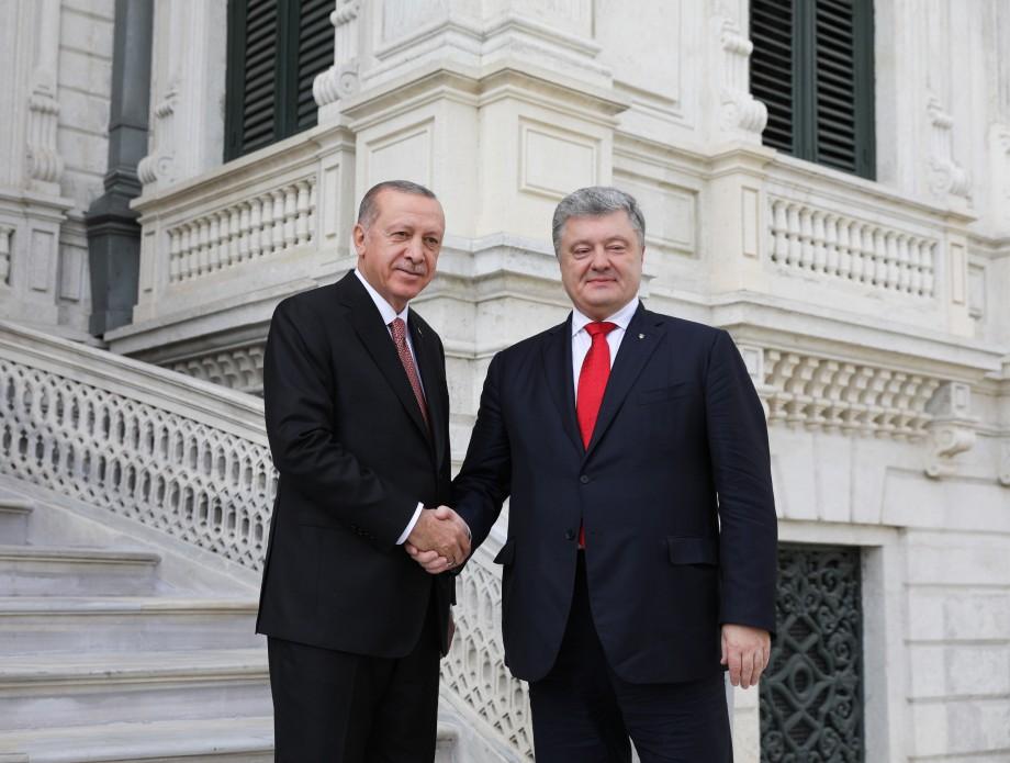 В Стамбуле состоялась встреча Петра Порошенко и Реджепа Тайипа Эрдогана